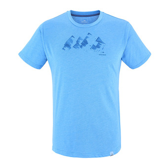Camiseta hombre YULTON blue wave mountains