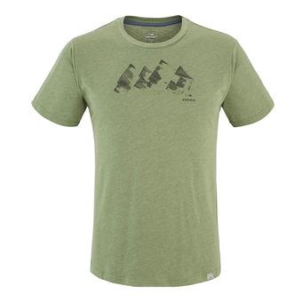 Camiseta hombre YULTON dark khaki mountains