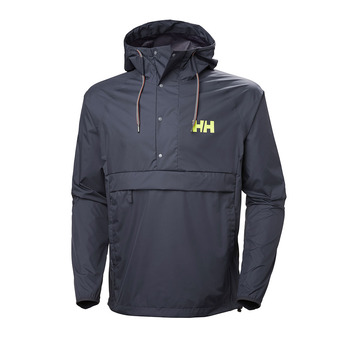Hooded Jacket - Men's - LOKE PACKABLE graphite blue