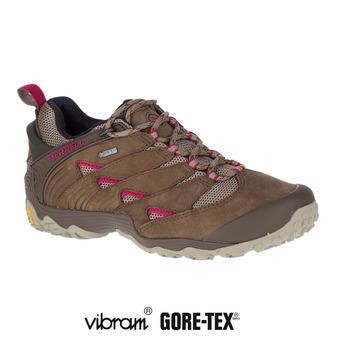 Zapatillas de senderismo mujer CHAM 7 GTX merrell stone