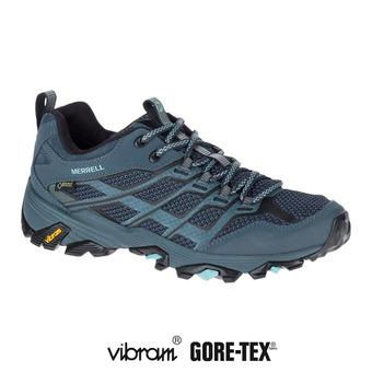 Zapatillas de senderismo mujer MOAB FST GTX slate