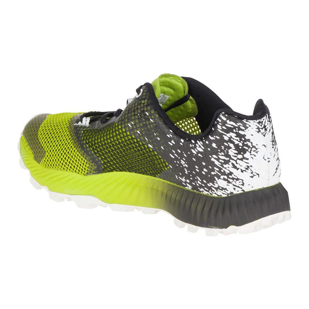 ALL OUT CRUSH 2 - Zapatillas de trail running - black/speed green bTEfNGX