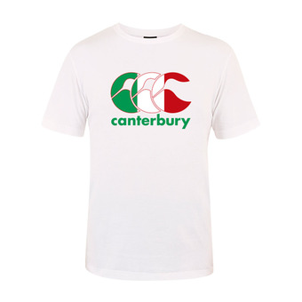 Canterbury TEAM PLAIN - Camiseta hombre white italia