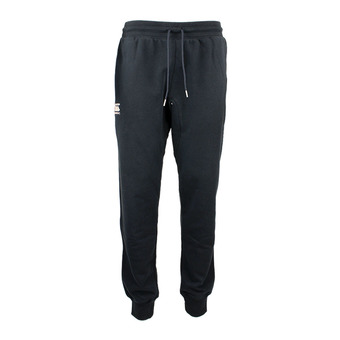 TAPERED CUFFED FLEECE PANT HOMME black