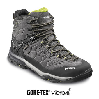 Meindl TERENO GTX - Chaussures approche Homme anthracite/citron vert