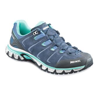 Zapatillas de senderismo mujer VEGAS marine/turquoise