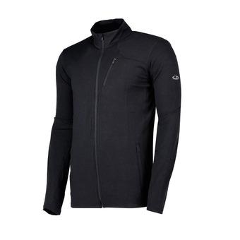 Icebreaker FLUID ZONE - Sweatshirt - Men's - black