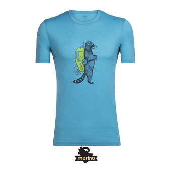 Tee-shirt MC homme TECH LITE mediterranean