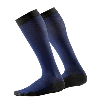 Chaussettes de compression femme ESSENTIALS RECOVERY navy/black