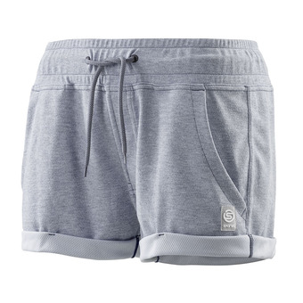 "Short mujer ACTIVEWEAR OUTPUT SPORT 2"" royal marle"