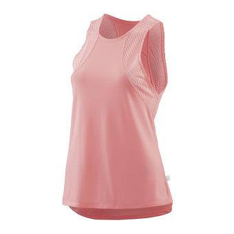Camiseta de tirantes mujer ACTIVEWEAR ODOT fluro peach