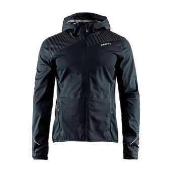 Chaqueta hombre GRIT TAPED negro