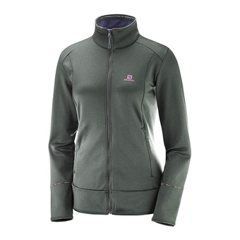 Polaire femme DISCOVERY FZ urban chic heather