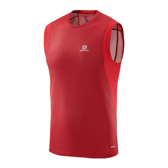 Camiseta sin mangas hombre TRAIL RUNNER barbados