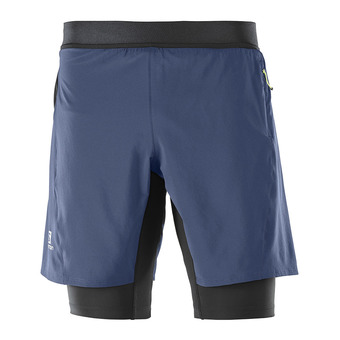 Short 2 en 1 homme FAST WING TWINSKIN dress blue