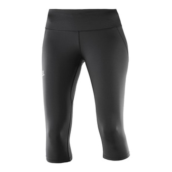 Salomon AGILE - 3/4 Tights - Women's - black