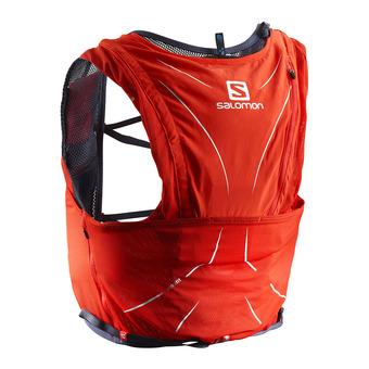 Chaleco de hidratación 12L ADV SKIN fiery red/graphite