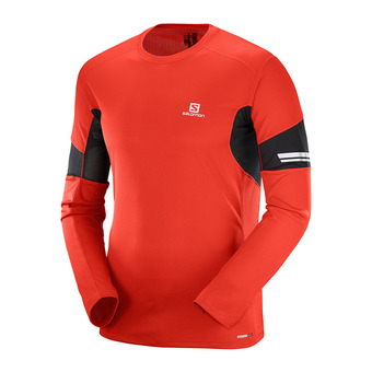 Maillot ML homme AGILE fiery red