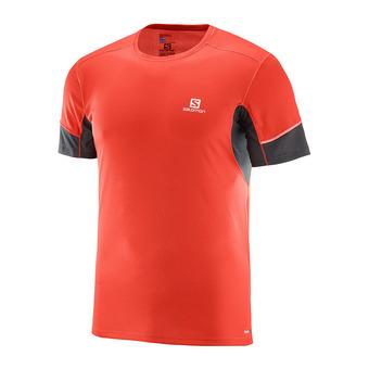 Camiseta hombre AGILE fiery red