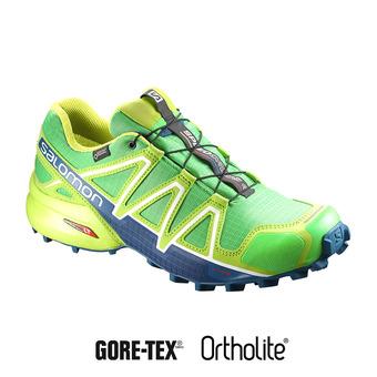 Zapatillas de trail hombre SPEEDCROSS 4 GTX® green/lime/poseidon