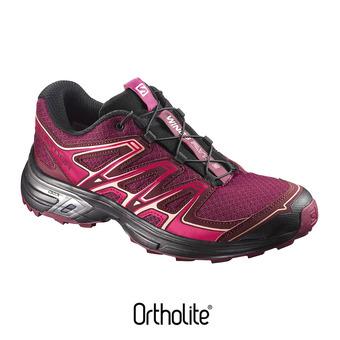 Zapatillas de trail mujer WINGS FLYTE 2 beet red/cabernet/black