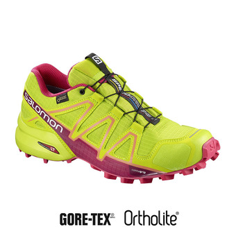 Zapatillas trail mujer SPEEDCROSS 4 GTX® lime green/virtual pink