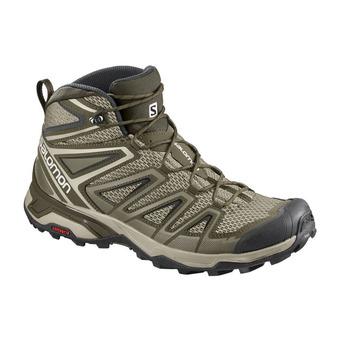 Salomon X ULTRA 3 AERO - Chaussures randonnée Homme vintage kaki/wren