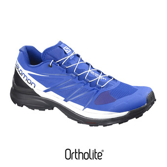 Zapatillas trail hombre WINGS PRO 3 nautical blue/black/white