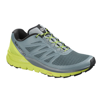 Zapatillas trail hombre SENSE PRO MAX stormy weather/acid lime