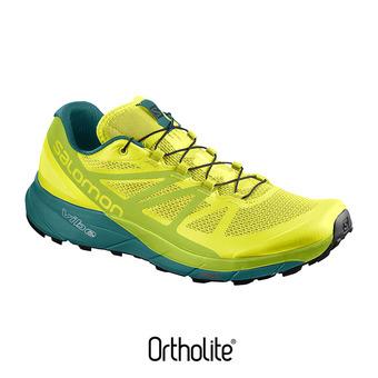Zapatillas trail hombre SENSE RIDE spring/lime green/deep lake