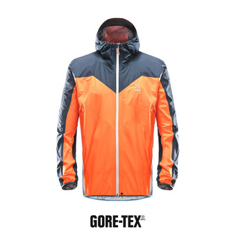 Veste homme L.I.M COMP GTX® cayenne/tarn blue