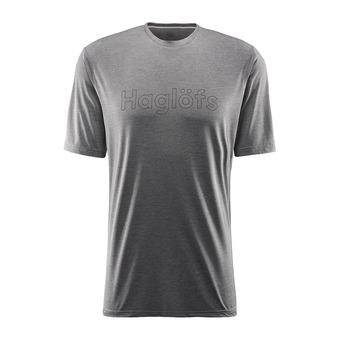 Haglofs RIDGE - Camiseta hombre magnetite