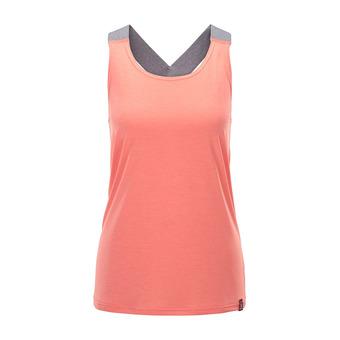 Camiseta de tirantes mujer RIDGE coral pink