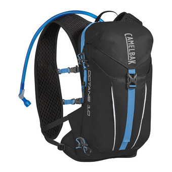 Camelbak OCTANE 8L - Mochila black/atomic blue