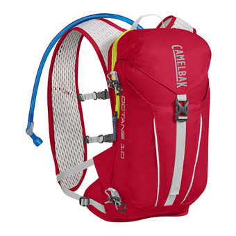 Camelbak OCTANE 8L - Mochila crimson red/lime punch