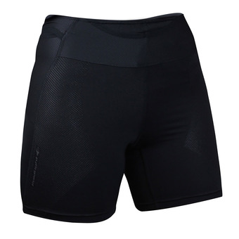 Raidlight STRETCH RAIDER - Mallas cortas mujer black