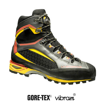 La Sportiva TRANGO TOWER GTX - Zapatillas de alpinismo hombre black/yellow