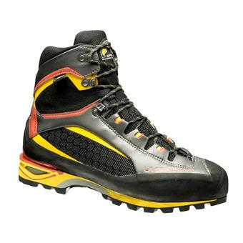 La Sportiva TRANGO TOWER GTX - Zapatillas de alpinismo hombre black/yellow