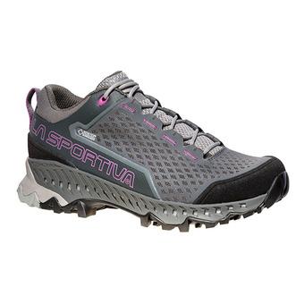 La Sportiva SPIRE GTX - Zapatillas de senderismo mujer carbon/purple