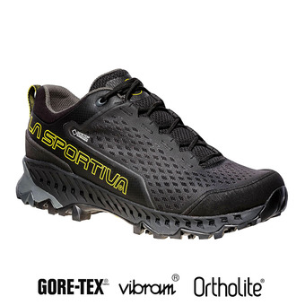Hiking Shoes - Men's - SPIRE GTX® black/yellow