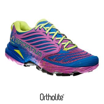 Chaussures trail femme AKASHA marine blue/purple