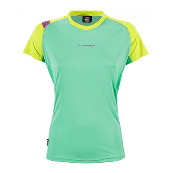 Camiseta mujer MOVE jade green/apple green