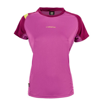 Maillot MC femme MOVE purple/plum
