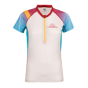 La Sportiva SPEED - Camiseta mujer berry/white