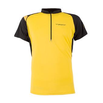 Camiseta hombre ADVANCE yellow/black
