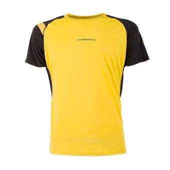 Camiseta hombre MOTION yellow/black
