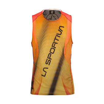 Maillot sans manches homme VELOCITY black/yellow