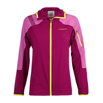 Chaqueta mujer TX LIGHT plum/purple