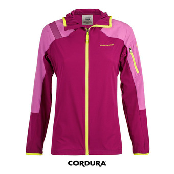 La Sportiva TX LIGHT - Chaqueta mujer plum/purple