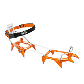 Petzl LEOPARD LLF - Crampons - orange